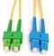 Patchcord OPTIC SC/UPC-SC/APC, SM, 0.5M, DUPLEX