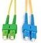 Patchcord OPTIC SC/APC-SC/UPC, SM G657A, DUPLEX, 0.5M, 3.0mm, LSZH