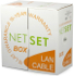Przewód NETSET BOX UTP kategorii 5 skrętka zewnętrzna [305m] E1412