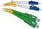 Patchcord OPTIC  LC/UPC-SC/APC, SM, 5M, DUPLEX