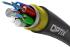 OPTIX cable ADSS-XOTKtsdD 48x9/125 4T12F ITU-T G.652D 4kN (SPAN 100m)