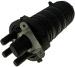 Mufa światłowodowa Tracom SC G-D v3.0 Typ-A (48/96j: 4xP010) z tackami światłowodowymi 4x Tracon P010(12/24j)