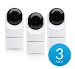 UBIQUITI :: (UVC-G3-Flex-3) UniFi Video Camera 3rd Generation, 1080p Full HD IP camera with IR for day or night, 802.3af PoE, indoor/outdoor- 3 pack